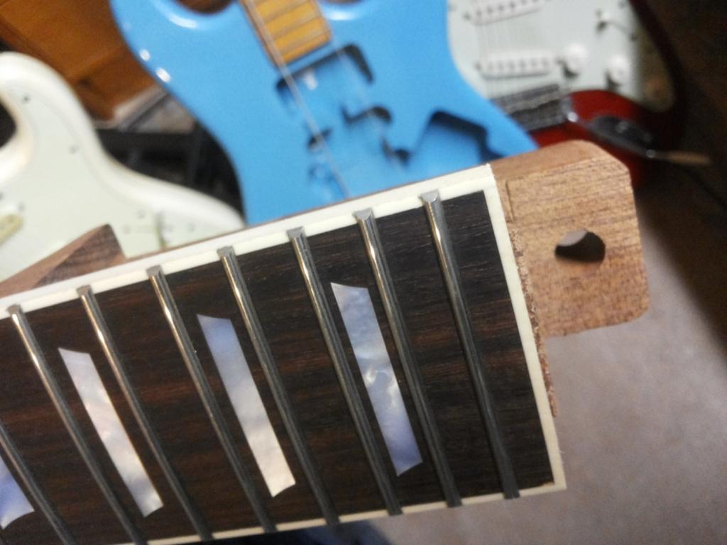 Palisander Griffbrett fretboard 24 Bünde LP Mensur